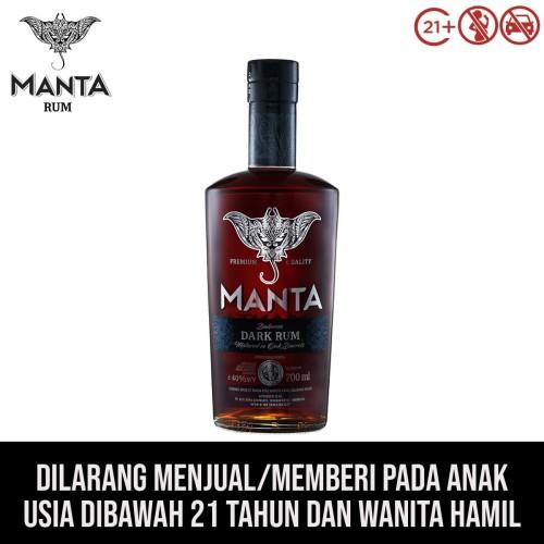 Foto Produk Manta Dark Rum dari kawan minum