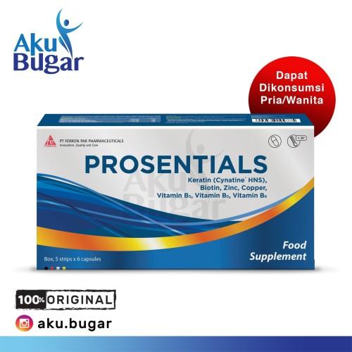 Foto Produk PROSENTIALS (BOX/30) dari Akubugar