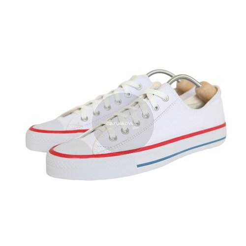 Foto Produk Sepatu Converse All Star White/Putih List Merah Grade Ori - Putih, 36 dari casualovers