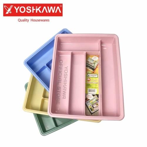 Foto Produk Baki Peralatan Makan / Tempat Sendok / Cutlery Tray ST-01 Yoshikawa dari Pusat Horeka