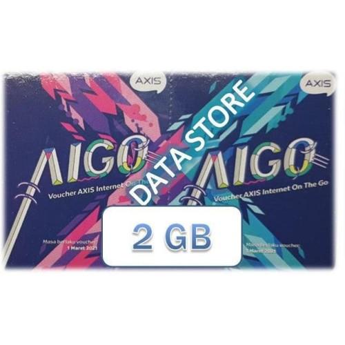 Foto Produk Voucher Axis AIGO 2 GB dari Data Store Cellular