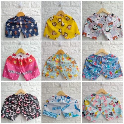Foto Produk Celana Pendek Harian Anak Perempuan - Size S dari Posikids
