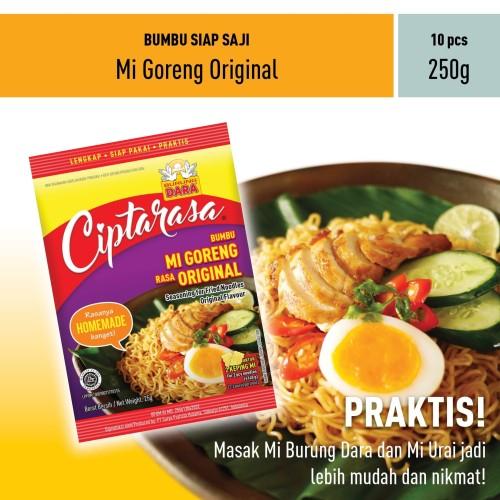 Foto Produk Bumbu Mi Goreng Ciptarasa (Khusus Online) dari BURUNG DARA OFFICIAL