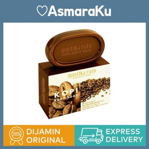 Foto Produk Mustika Ratu Body Soap Coffee Kopi - 85 gr dari Asmaraku Official Store