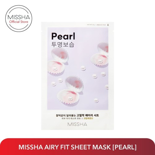 Foto Produk MISSHA AIRY FIT SHEET MASK (Pearl) dari Missha Indonesia