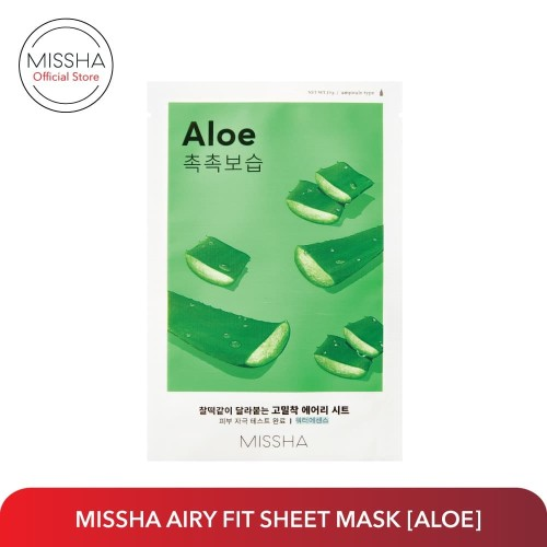 Foto Produk MISSHA AIRY FIT SHEET MASK (Aloe) dari Missha Indonesia