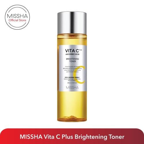Foto Produk MISSHA Vita C Plus Brightening Toner (200ml) dari Missha Indonesia