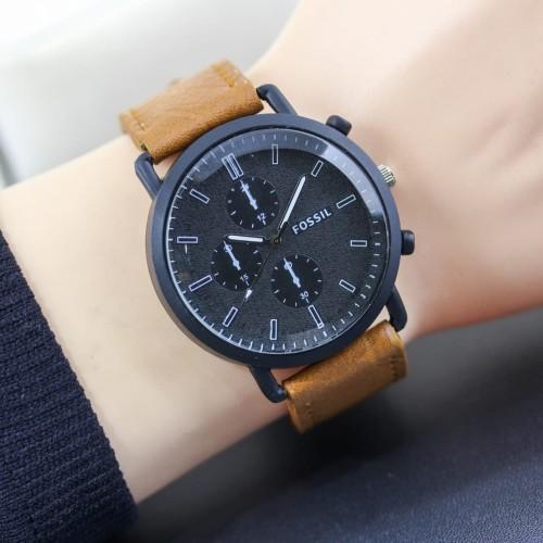 Foto Produk jam tangan pria tali kulit Fossil dari enak jaya