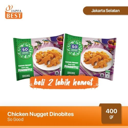 Foto Produk Paket So Good Dinobites Kombo Hemat [2 Pcs x 400 gr] dari Japfa Best Jakarta