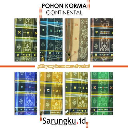 Foto Produk SARUNG POHON KORMA CONTINENTAL - Cover dari SarungkuID