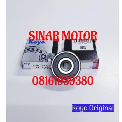 Foto Produk laher bearing 6301 2rs koyo dari SINAR MOTOR LAHER