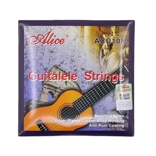 Foto Produk Alice ACU108 Clear Nylon Senar Guitalele Strings dari Grandia Shop