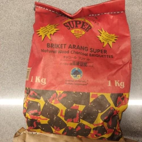 Foto Produk arang super bbq 1kg dari Juragan import 01