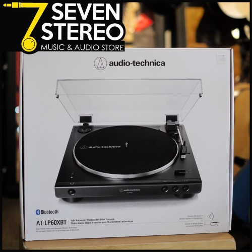 Foto Produk Audio Technica LP60X BT LP 60 X BT Black Turntable Vinyl Player dari SEVEN STEREO