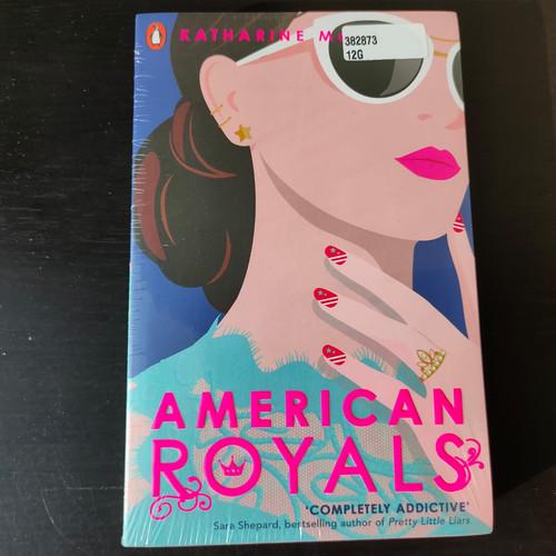 Foto Produk American Royals - Katharine McGee (Asli/Import) dari Delicia Mandy Reads