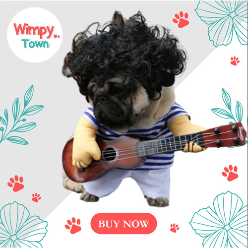 Foto Produk Baju anjing kostum anjing baju hewan baju kucing kostum kucing dari Wimpy Town