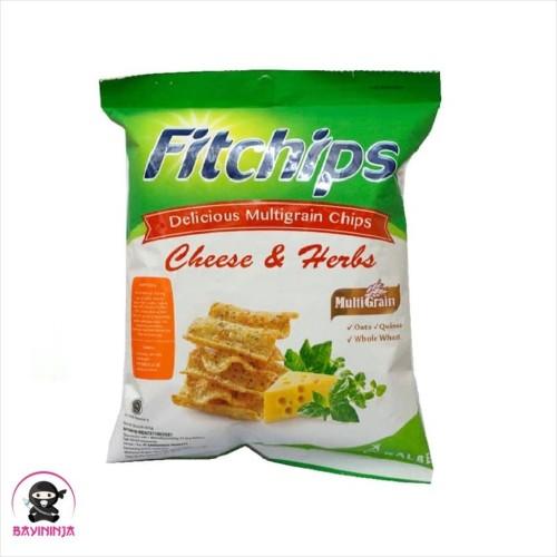 Foto Produk FITCHIPS Multigrain Cheese Herbs 60 g dari BAYININJA