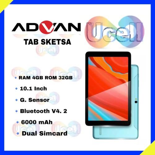 "Foto Produk Advan Tablet Sketsa 10"" - 4GB/32GB - Garansi Resmi dari ucell cempaka"
