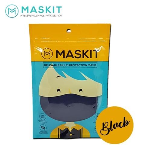 Foto Produk MASKIT Masker Black dari Prima Top Market