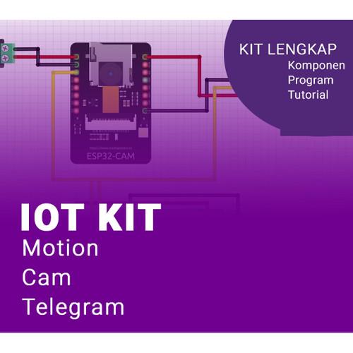 Foto Produk IoT KIT - Kirim Gambar Ke Telegram Otomatis Ketika Ada Gerakan 2 dari Kelas Robot