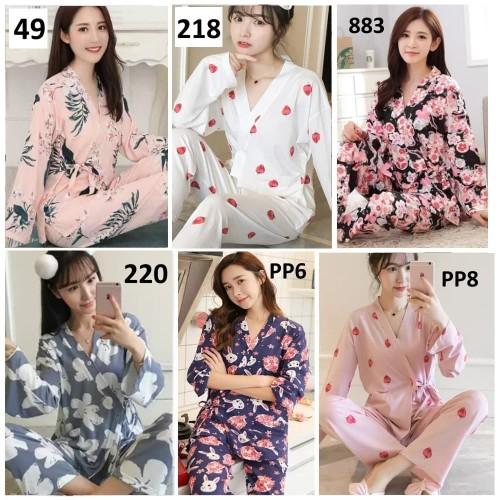 Foto Produk Baju Tidur Wanita Piyama Wanita Impor dari Michary Shop