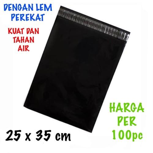 Foto Produk Kantong plastik online amplop plastik online polymailer +lem uk 25x35 dari juragan kado