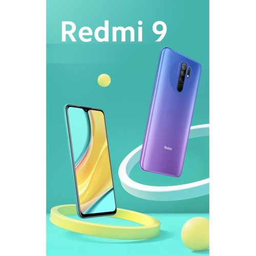 Foto Produk Xiaomi Redmi 9 4/64 RAM 4GB ROM 64GB GARANSI RESMI XIAOMI dari Nic-cell