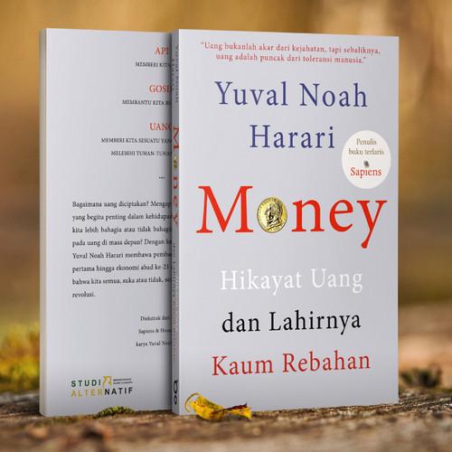 Foto Produk Money, Hikayat Uang Dan Lahirnya Kaum Rebahan - Yuval Noah Harari dari Buku Sosial