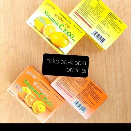 Foto Produk sidomuncul vitamin c1000 mg orange dan lemon - Orange dari toko obat obat original