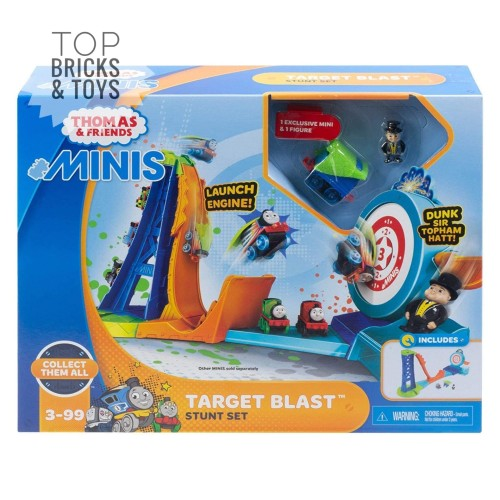 Foto Produk MATTEL, Thomas & Friends MINIS Target Blast Stunt Set dari Top Bricks & Toys