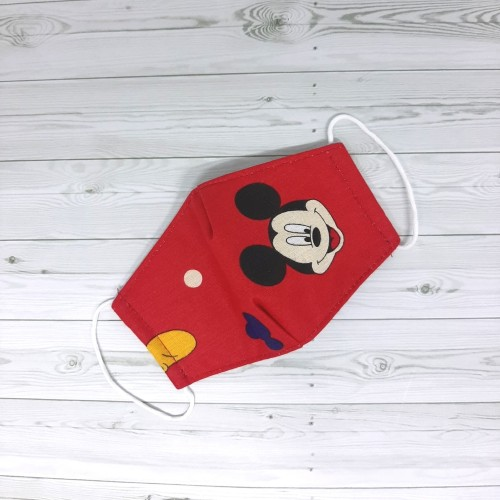 Foto Produk Masker anak 3ply bahan kain bisa dicuci - Motif A dari Rayles store