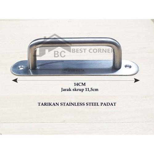 Foto Produk Handle Jendela / Pintu Stainless padat / Tarikan laci atau Lemari dari Best Corner