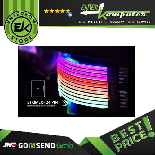 Foto Produk LIAN LI STRIMER PLUS V2 RGB 24 PIN PSU CABLE dari Enter Komputer Official