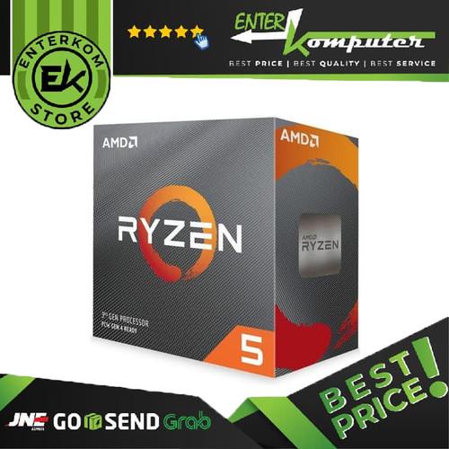 Foto Produk AMD Ryzen 5 3500X 3.6Ghz Up To 4.1Ghz Cache 32MB 65W AM4 [Box] dari Enter Komputer Official