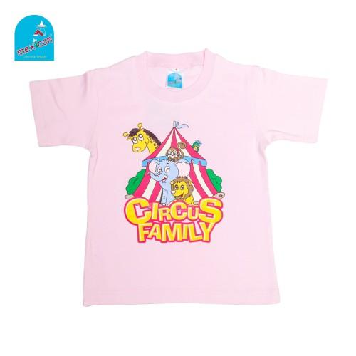 Foto Produk Mexican Kaos Anak - Circus T-shirt - LBlue ShirtPink, 8 dari Mexican Childwear