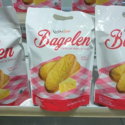 Foto Produk Kartika Toast Bagelen Cheese 10@19,5g dari cubeecubee