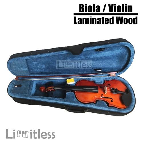 Foto Produk Biola / Violin Paladin 1/2 3/4 4/4 Laminated Wood Original dari Limit-less Store