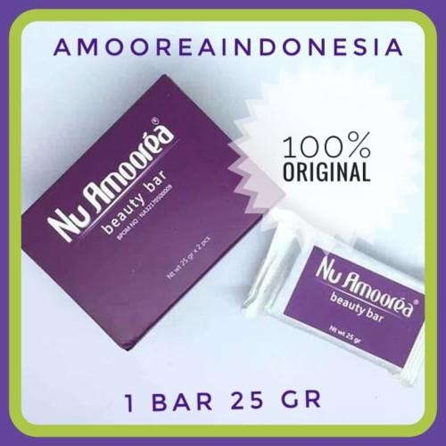 Foto Produk [Asli dan Termurah ]Sabun Nu Amoorea beauty bar 25 gr dari amooreaindonesia
