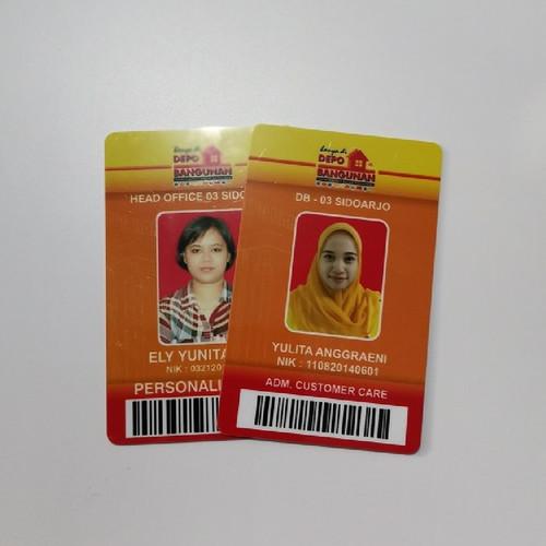 Foto Produk Id Card Karyawan dari Mutiara Kartu