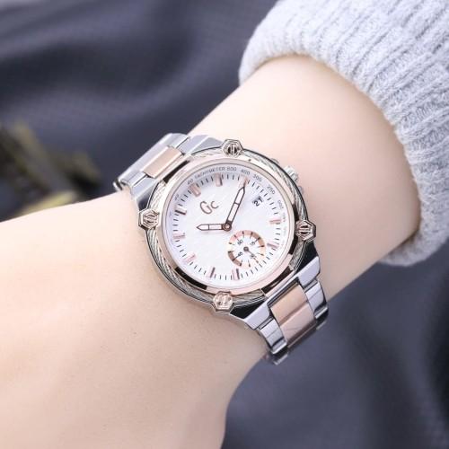 Foto Produk jam tangan GC GUESS COLLECTION WANITA DETIK BAWAH TANGGAL RANTAI dari Multyshop MSI