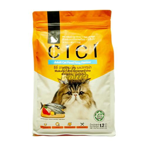Foto Produk CICI Adult Cat Food Tuna Flavour 1.2kg dari Bakpao Rabbit
