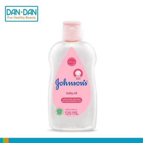 Foto Produk Johnsons Baby Oil 125ml - 12353 dari Dan+Dan Official Store