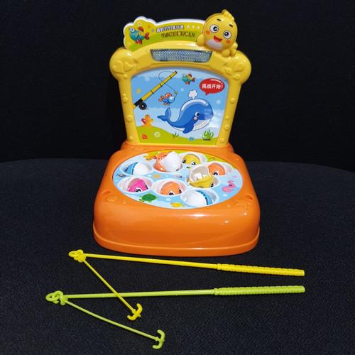 Foto Produk MB42 Mainan Games Hit Hamster Toys 2213 / Games Memukul Hamster - FISHING KUNING dari Mmtoys Indonesia