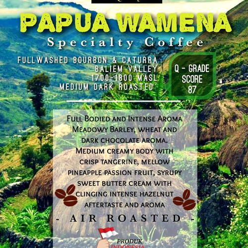 Foto Produk Papua Wamena Specialty Coffee 500gr dari Toko Rok Presso