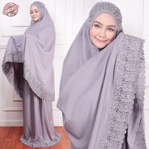 Foto Produk mukena khadijah syafina mukenah jumbo dewasa kadijah peralatan sholat dari Gudang-syari