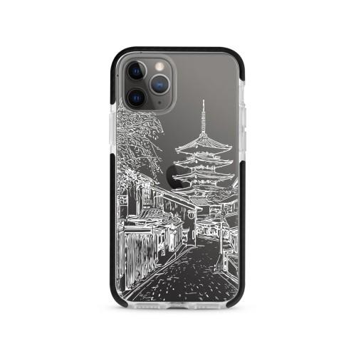 Foto Produk Romantic Kyoto (WHITE) - X-Tech Bumper Case - Black dari The Case Bible