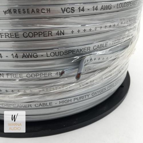 Foto Produk Kabel Speaker Vox Research 14 AWG Loudspeaker Cable Audio Mobil VCS 14 dari Warna Audio