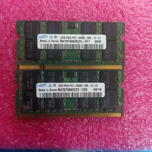 Foto Produk MEMORY RAM SODIM PC2 2GB 5300S/6400S dari Biz Comp