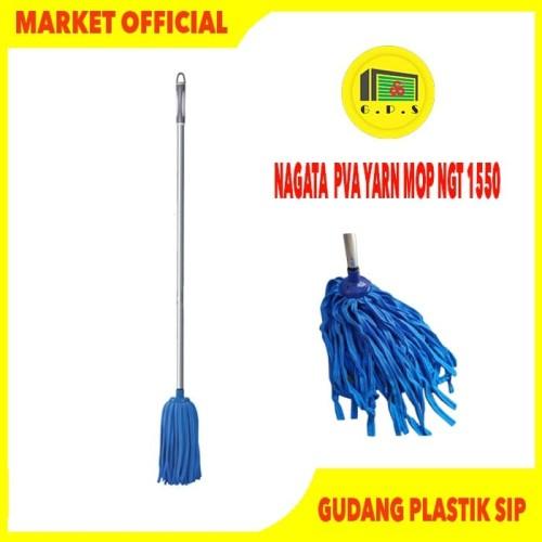 Foto Produk PEL LANTAI PLUS GAGANG SUMBU / NAGATA PVA YARN MOP NGT 1550 dari Gudang Plastik SIP