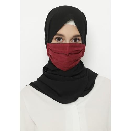 Foto Produk Heaven Sent - Masker Hijab Non Medis Aresha Maroon dari Heaven Sent Official